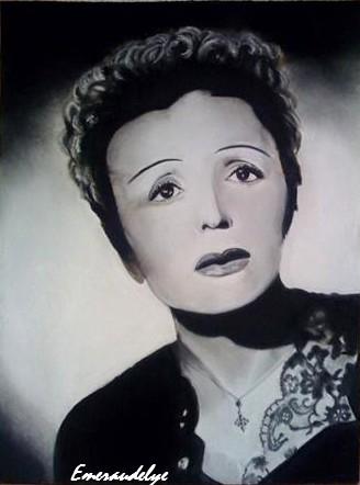 Edith Piaf por emeraudelye